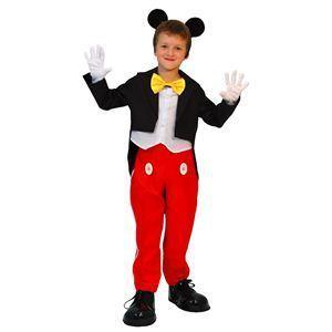 RUBIE'S(ルービーズ) DISNEY(ディズニー) コスプレ Child Mickey(ミッキー)ハロウィン コスプレ 衣装店