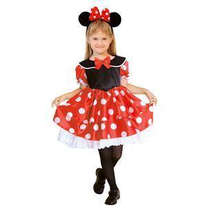 RUBIE'S(ルービーズ) DISNEY(ディズニー) コスプレ Child Minnie(ミニー)ハロウィン コスプレ 衣装店